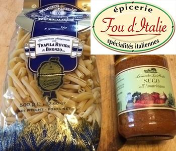 Fou d'Italie - Nos produits