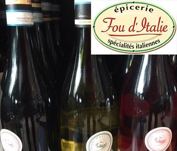 Fou d'Italie - Nos vins
