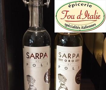 Fou d'Italie - Nos alcools