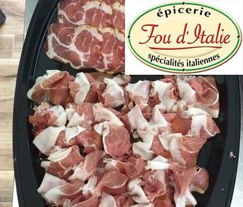 Fou d'Italie - Nos plateaux