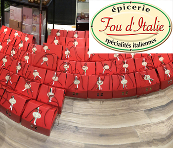 Fou d'Italie - Nos colis cadeaux